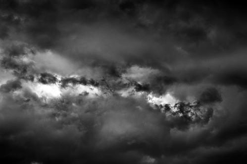 White light black rain?