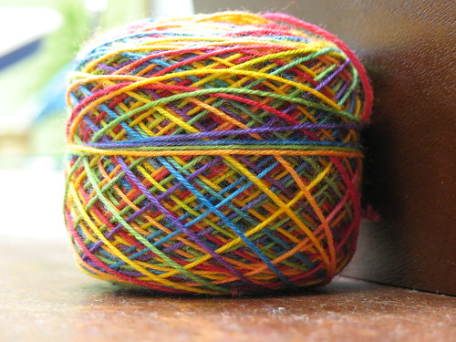 In progress: Lacy Summer Rainbows