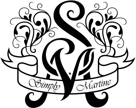 """Simply Martine"" Logo"