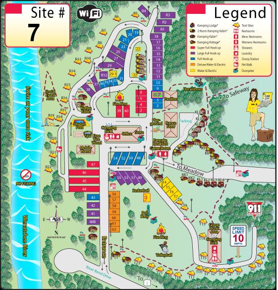 koa map