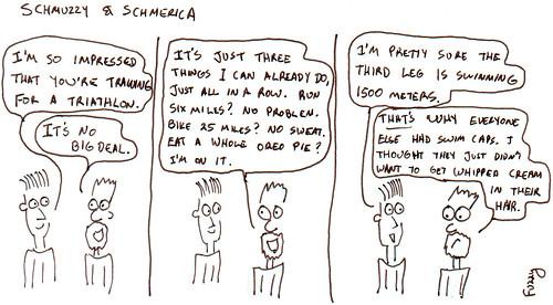 366 Cartoons - 133 - Schmuzzy and Schmerica