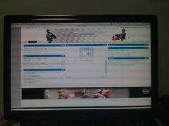 HYUNDAI W240D iGoogleをフルスクリーンで