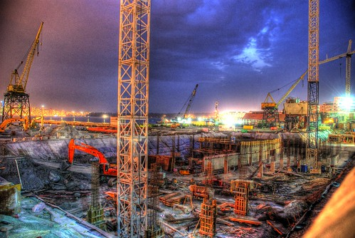 HDR - Construction Site