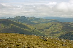 Tarmachan Ridge from Carn Gorm (Photographic View Scotland) Tags: scotland hillwalking glenlyon tarmachanridge carngorm