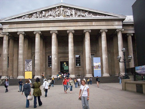 Museo Británico en Londres by ReservasdeCoches.com.