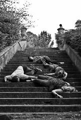 (evilibby) Tags: blackandwhite bw mike stairs dead blackwhite steve holly dorset libby oops 365 365days explored 3652 kingstonmaurwardgardens kingstonmaurwardgardensanimalpark kingstonmaurwardgardensandanimalpark