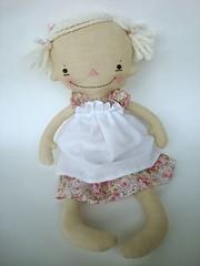 Billie Anne (bitofwhimsy) Tags: softie bow ragdoll primitive handmadedoll clothdoll raggedyannie bitofwhimsyprims bitofwhimsydolls