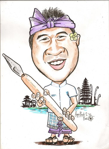 My caricature by Agus Budi Santoso