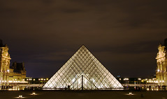 The Louvre (Jim Boud) Tags: paris france art monument museum night pyramid louvre historic musedulouvre thelouvre louvreparis louvremuseum louvrepyramid jimboud grandlouvre jamesboud