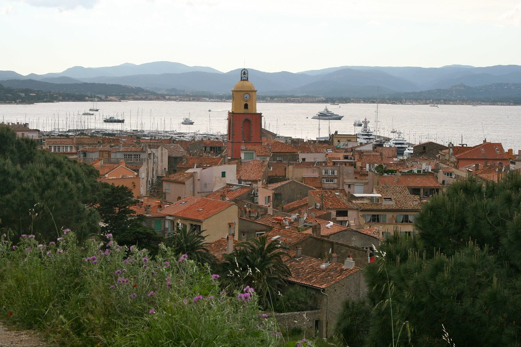 St-Tropez and the bay by frans16611, on Flickr
