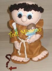 Uma encomenda linda!!! (Toti Mimmo by Dani Heinemann) Tags: boneco felt lrio casamento feltro boneca menina menino santo presente maternidade tric santoantonio lembrancinhas lembrancinhasdebeb sapatinhosdebeb