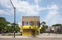 Perfect Food & Liquors (metroblossom) Tags: chicago building illinois bright sunny study link westside isolated 544 mixeduse foodliquor foodandliquor img8056 illinoislink weacceptillink perfectfoodliquors illinoiselectronicbenefittransfercard