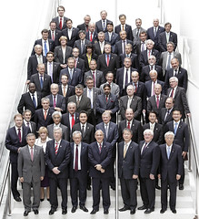 OECD Ministerial Council Meeting family photo