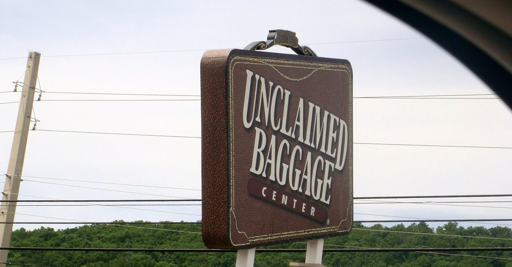 Unclaimed Baggage Center -  Checked off the Bucket List!