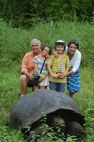 The Baquerizo family in Ecuador