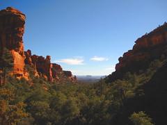 Fay Canyon (im me) Tags: blue trees red arizona sky rock sedona canyon faycanyon
