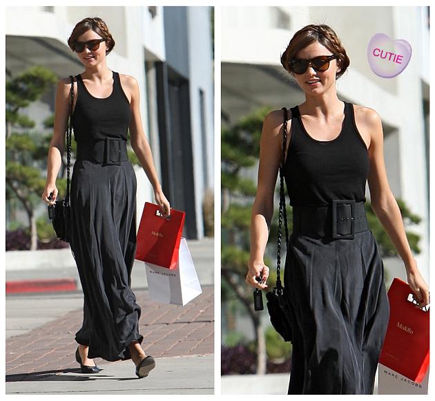 Miranda Kerr Shopping In Beverly Hills