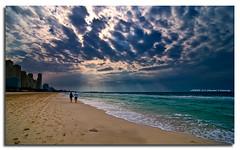 The Day After Tomorrow (DanielKHC) Tags: sun beach clouds interestingness nikon couple dubai uae dramatic explore beams d300 jbr nodri danielcheong infinestyle danielkhc tokina1116mm gettyimagesmeandafrica1