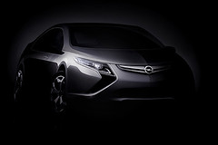 Opel To Reveal Ampera Electric Car At Geneva M...