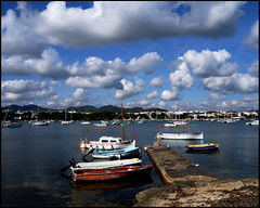 PORTO COLOM.MALLORCA.A DAY WITH A VERY NICE CLOUDS (llorenç gris) Tags: clouds flickrsbest abeauty diamondclassphotographer amateurshighfive