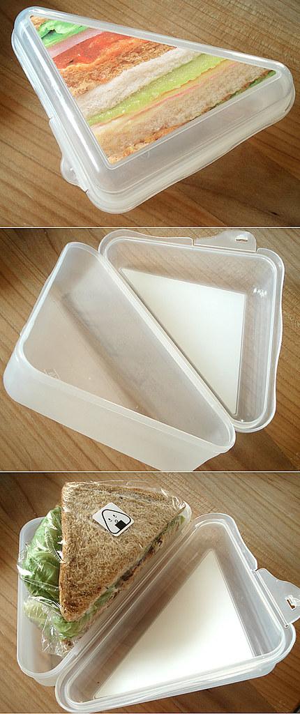 Sandwich box from Migros Topline line