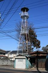 上新井の火の見櫓(所沢市)
