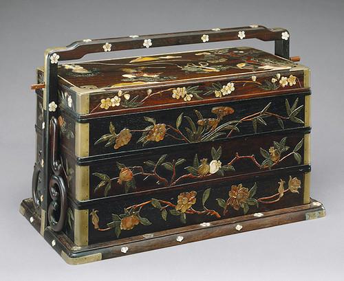 008-Cesta de picnic- dinastía Qing-siglo 19-China- Copyrigth © 2000-2009 The Metropolitan Museum of Art