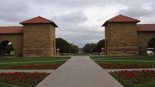 Looking toward Palo Alto