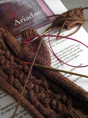Ariadne test knit