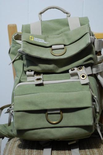 El back pack cerrado