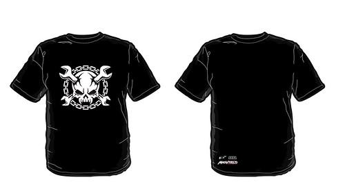 madworld t-shirt in black