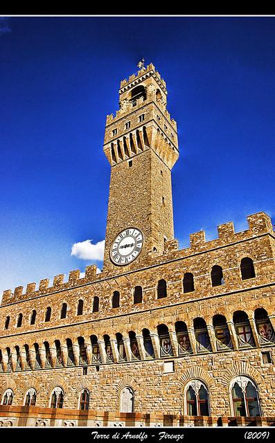 La Torre di Arnolfo, Palazzo Vecchio. Firenze
