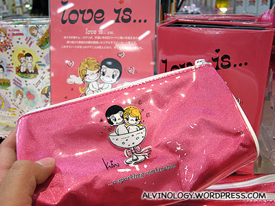 A Japanese brand called Love is...