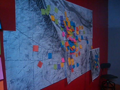 Asset Map from March Social Innovation Forum