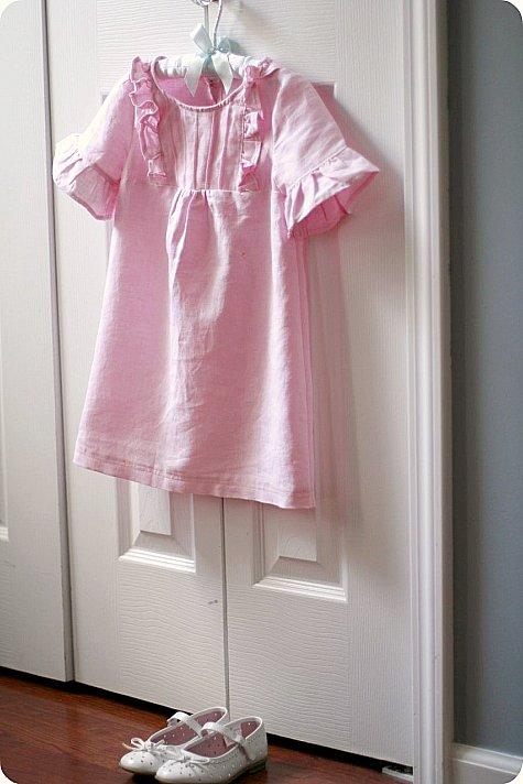 pink linen, simplicity 2711