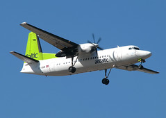 Air Baltic Fokker 50