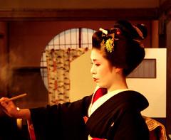 Yukako (fuyou-hime) Tags: dance maiko geiko geisha kimono obi miyako odori bijin darari nihongami