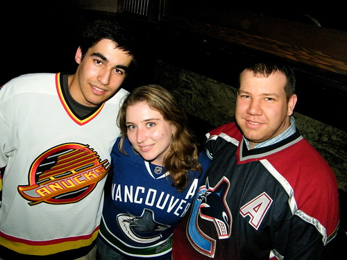 Round Two, Game One, Canucks Tweetup