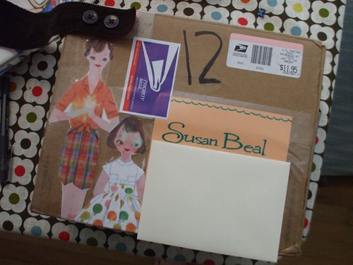 package from Sarah
