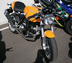 Goodwood Breakfast Club - Bikes, Trucks and Tractors (andywilson460@) Tags: honda norton ktm triumph yamaha ducati daimler speedtriple