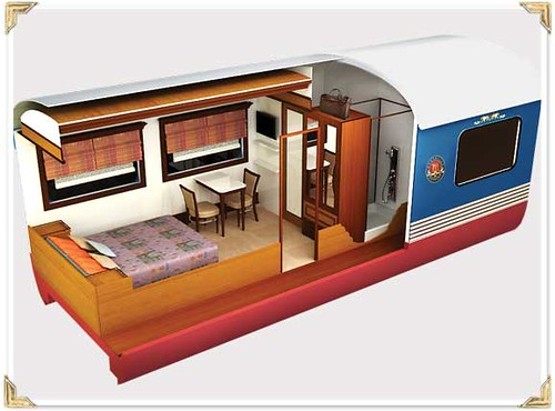 Train Chartering - Maharajas Express plan suite