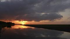 Sunset OVP 21:24 (ingo.ronner) Tags: sunset orange holland nationalpark colours polder flevoland almere flevopolder oostvaarderplassen ovp dlux4