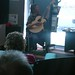 James Wilkinson playing at New Brighton Library