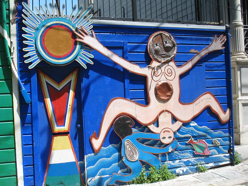 Balmy Alley Murals (2) - The Joy of Childbirth?