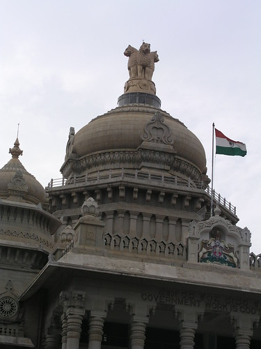 Dome of the Vidhana Soudha by mpries, on Flickr