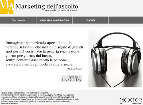 marketing dell'ascolto