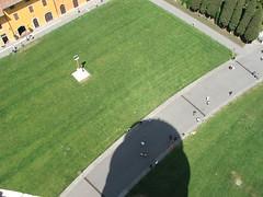 Pisa tower_shadow (Mrs Joanne Kelly) Tags: shadow tower pisa leaningtower