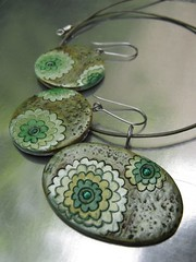 Unique Jewelry Handmade (pedro da fonseca) Tags: ceramica ceramic necklace handmade unique jewelry bulgaria earrings colar brincos colares velikotarnovo marianabankova