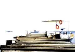 Morning on the dock (Aster-oid) Tags: docks piers greece karavomylos ff60