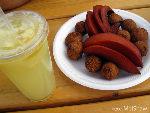 Sheena's Red Hots & Hush Puppies